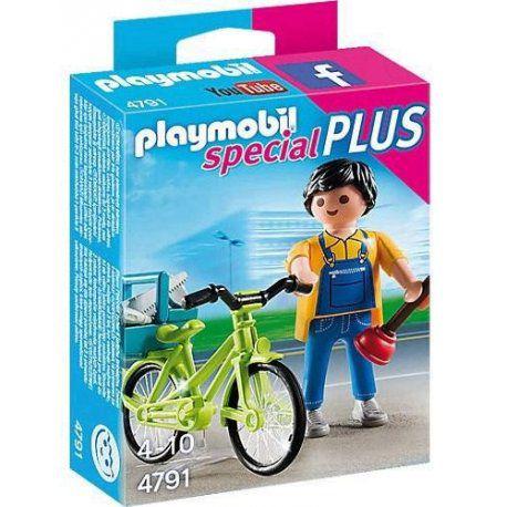 Playmobil Special Plus - Encanador com Bike