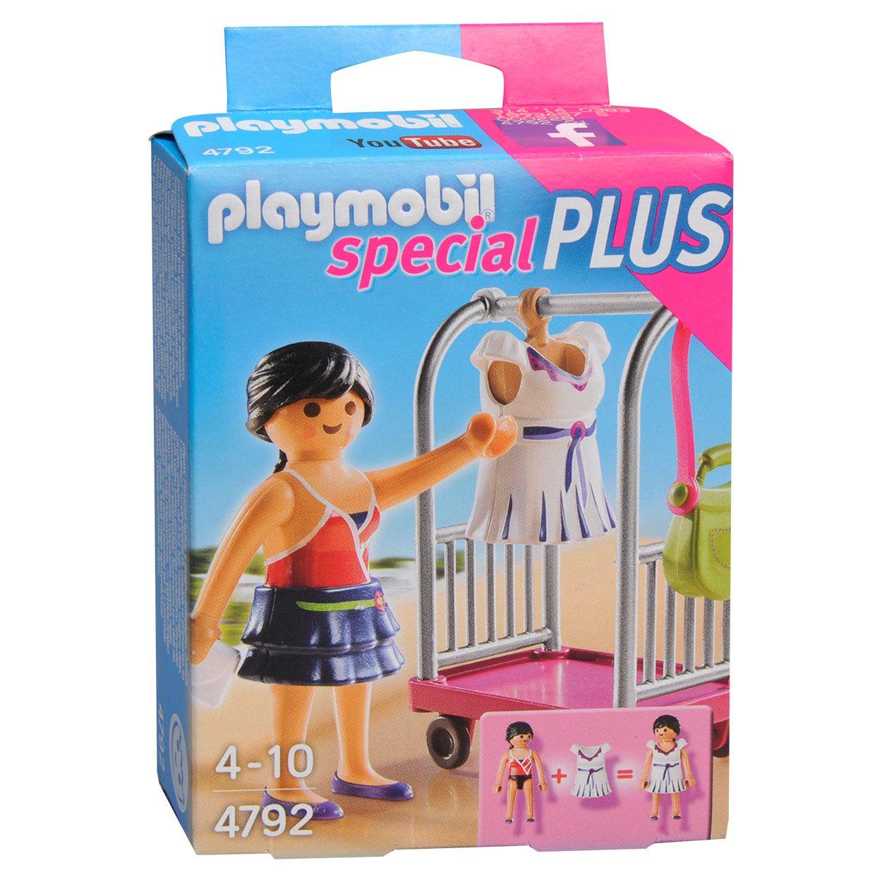 Playmobil Special Plus - Modelo com carrinho de vestidos