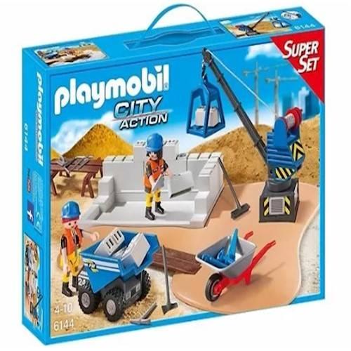 Playmobil City Action -  Set Construção