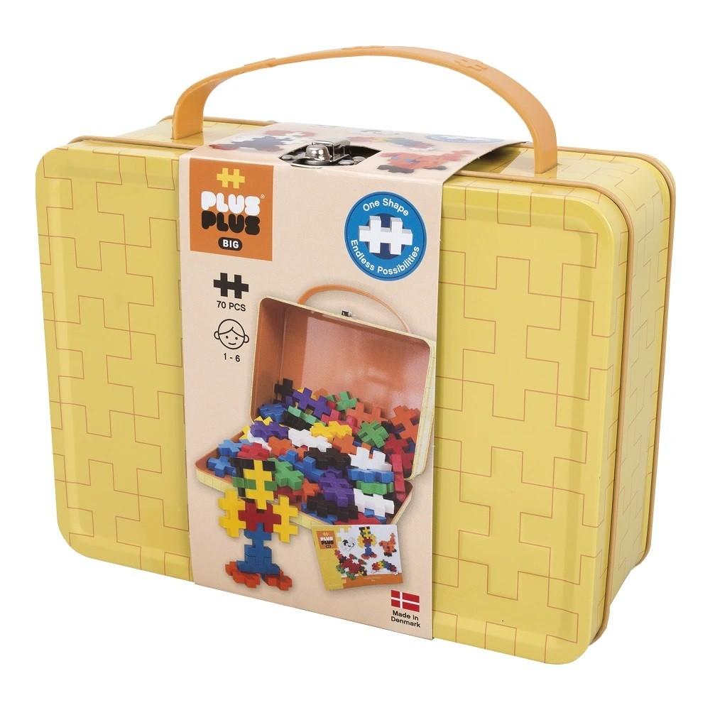 Plus-Plus Big Aprenda a Construir - maleta 70 peças