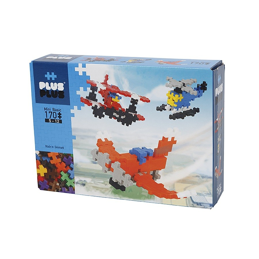Plus-Plus Mini -  170 peças Aviões