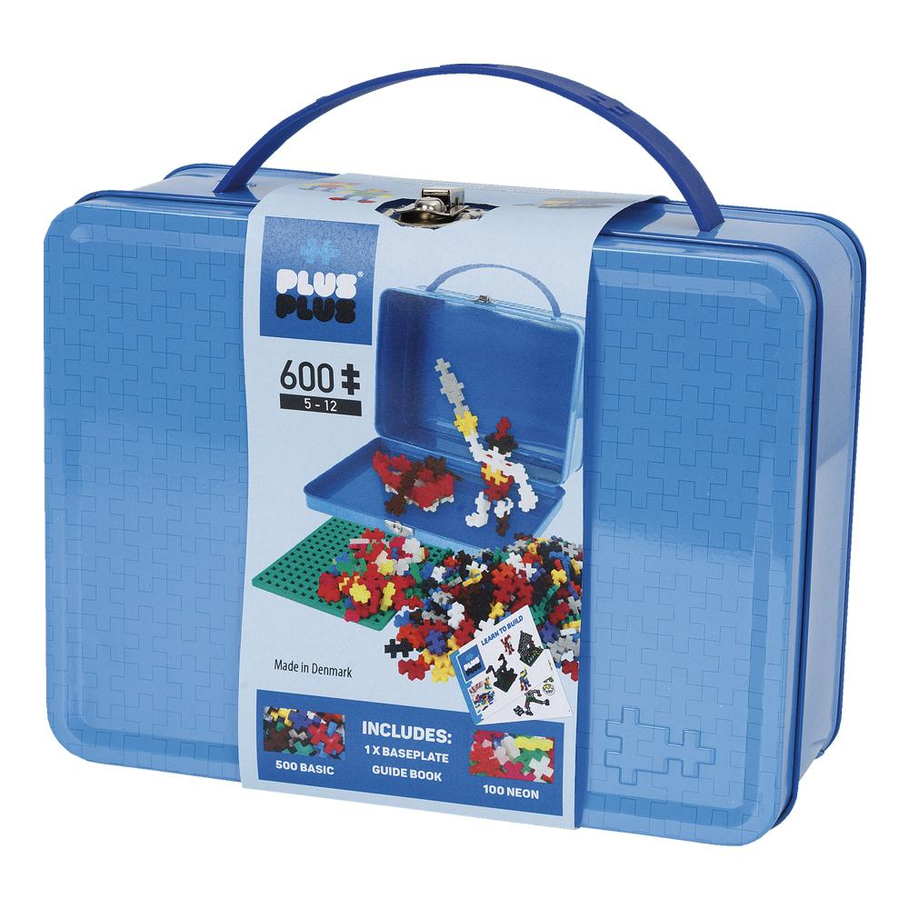 Plus-Plus Mini -  Maleta Basic 600 peças