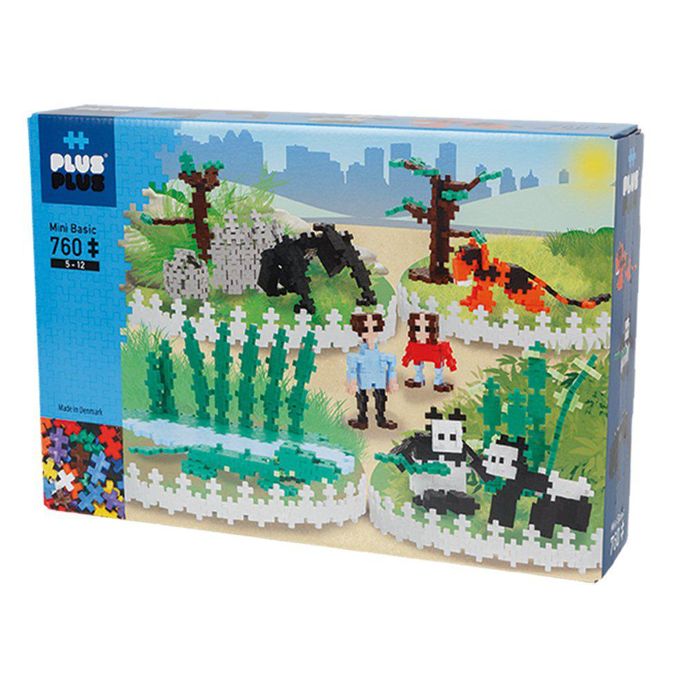 Plus-Plus Mini - Super kit  760 peças  - Zoo