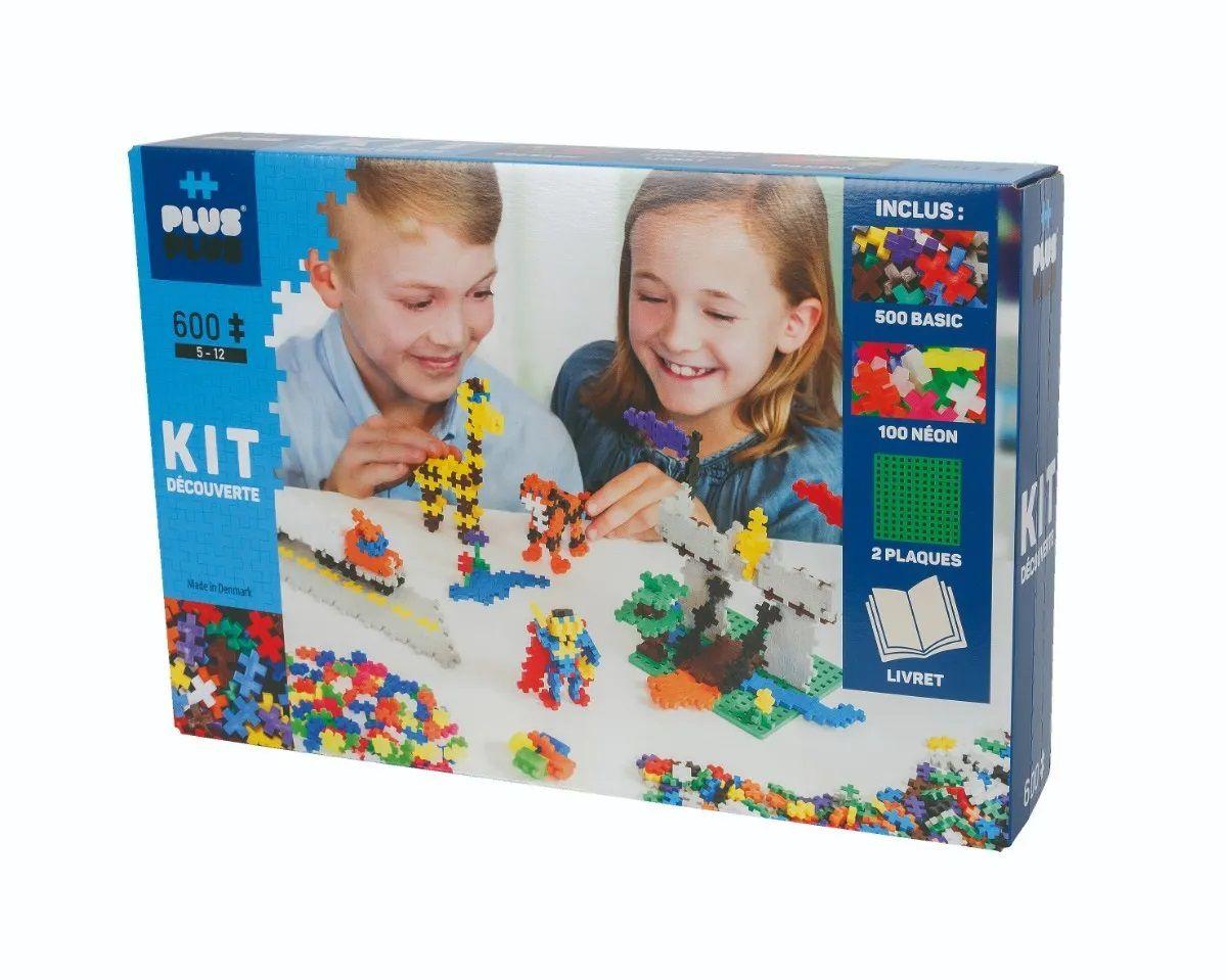 Plus-Plus Mini -  Super Set Aprenda a Construir 600 peças