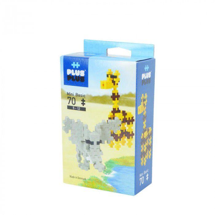 Plus-Plus Mini - Basic Animais 70 peças