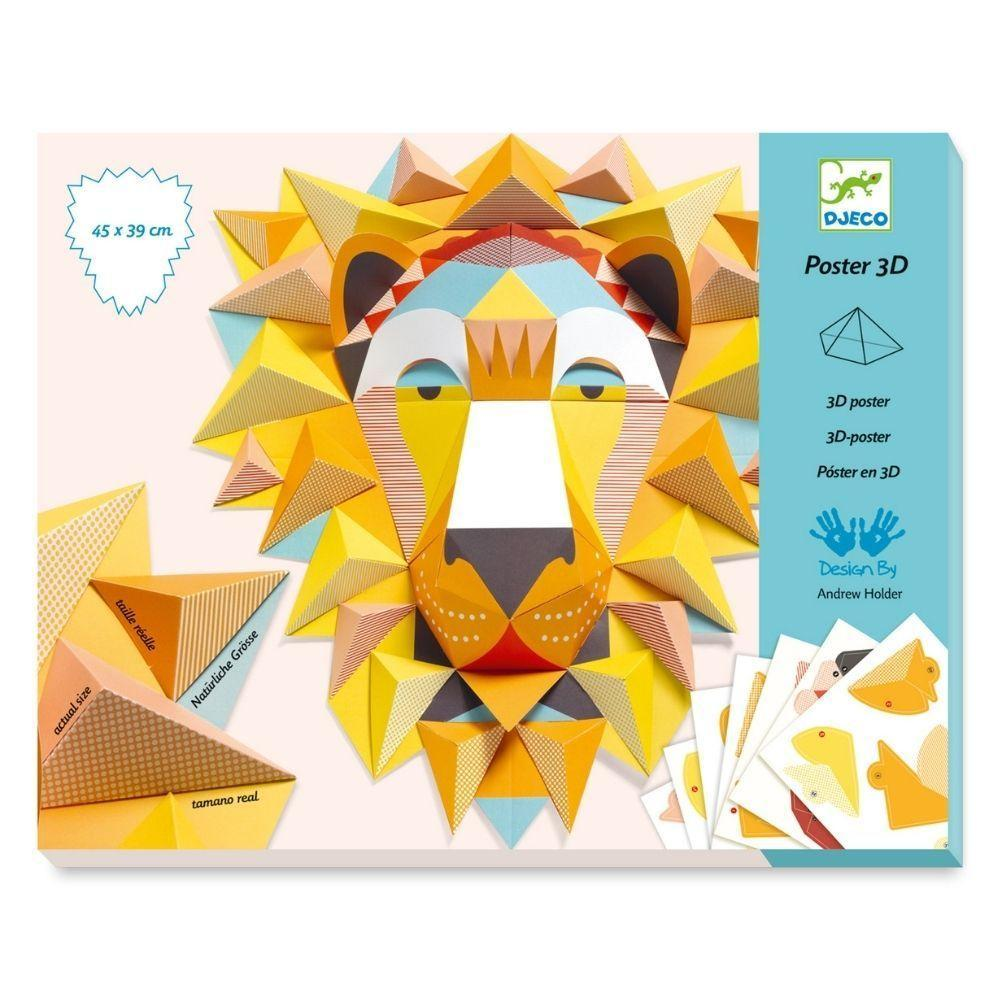 Poster 3D - O Rei Leão