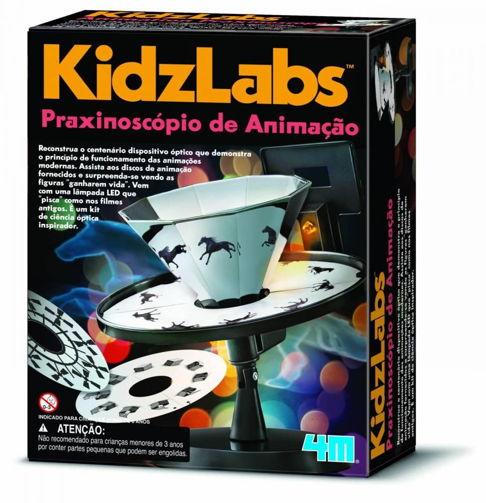 Praxinoscópio de Animação - Brincando de cinema - 4M