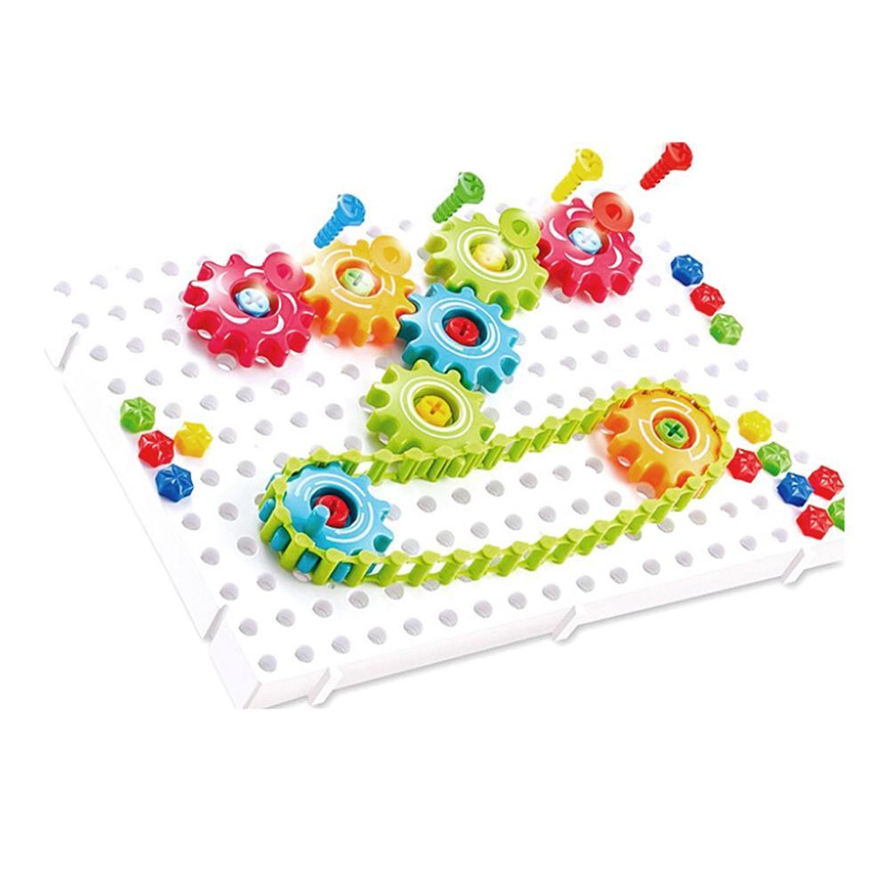 Puzzle Toy magic Plate (construção criativa) - 133 peças