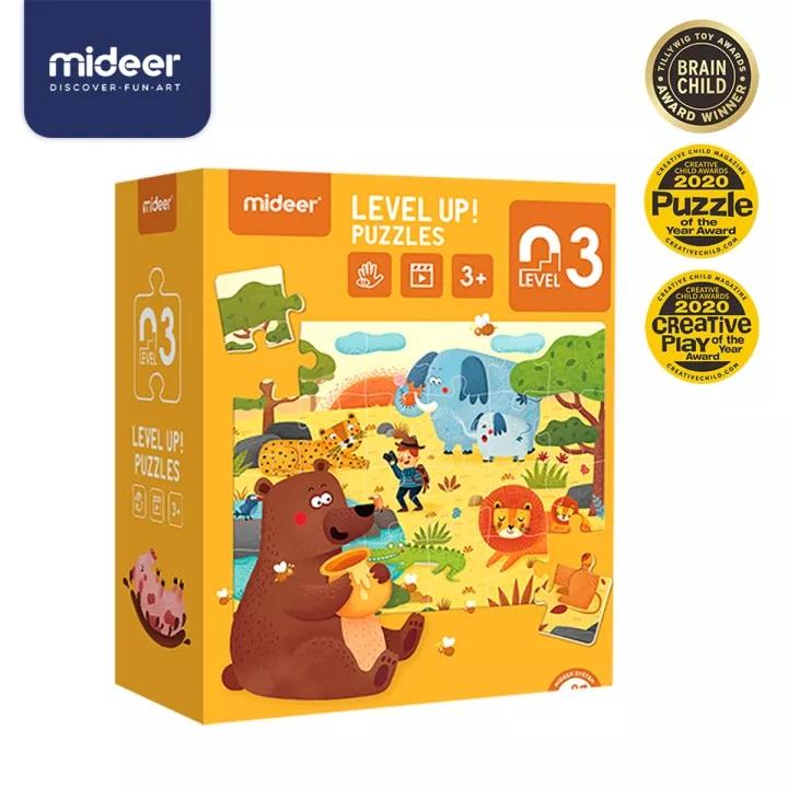 Quebra Cabeça Level up - Nivel 3 (24, 30 e 35 peças)