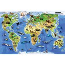 Quebra cabeças Animais do Mundo - 150 peças