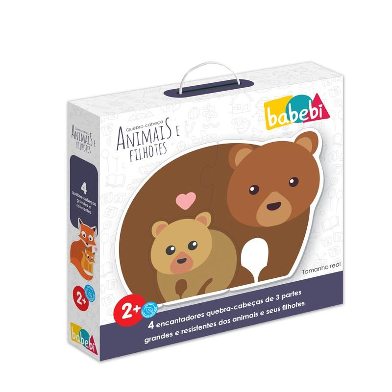 Quebra Cabeças Baby Animais e Filhotes