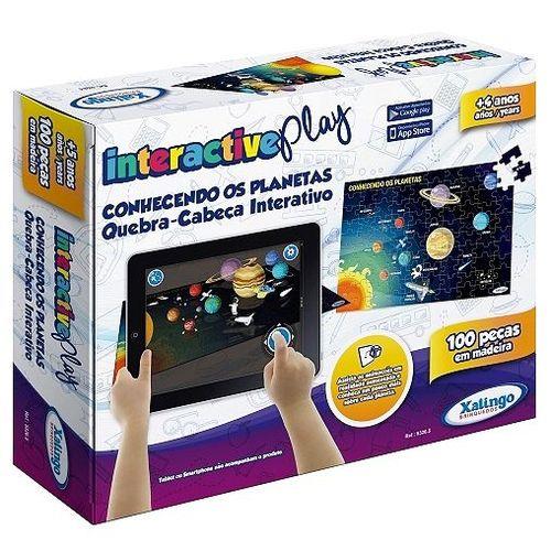 Interactive Play - Quebra cabeças Conhecendo os planetas