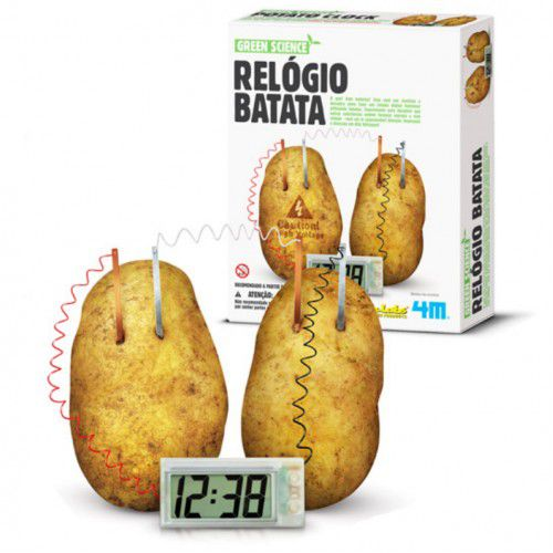 Relógio Batata - 4M