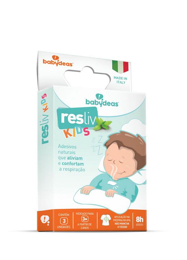 Resliv Kids - Adesivo para Alívio e conforto Nasal