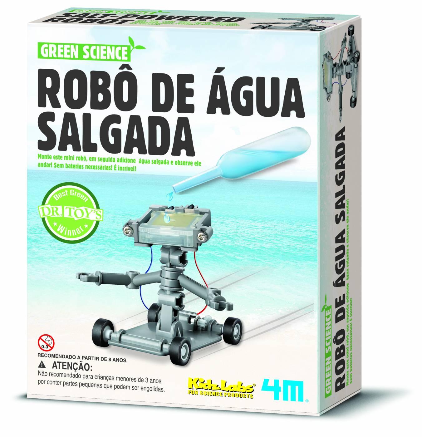 Robô de Água Salgada - 4M
