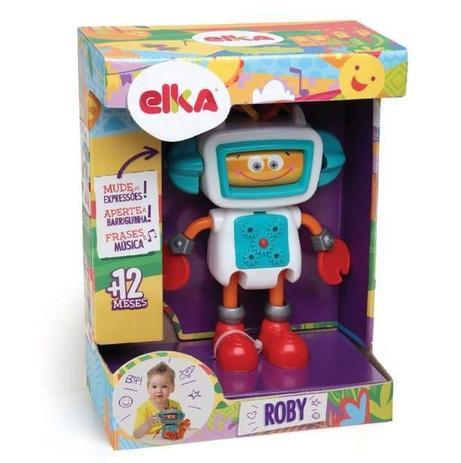Roby Robô de Atividades