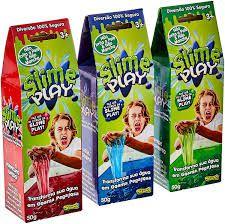 Slime Play - Brincando com Gosma (geleia sensorial) - 50g (até 10 litros)
