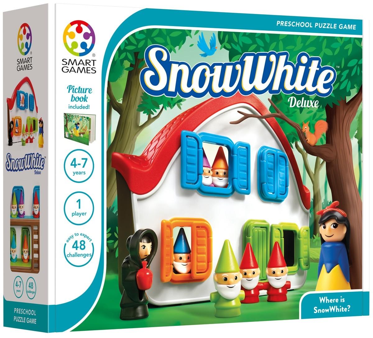 Snow White - Desafios de Lógica para Pequenos