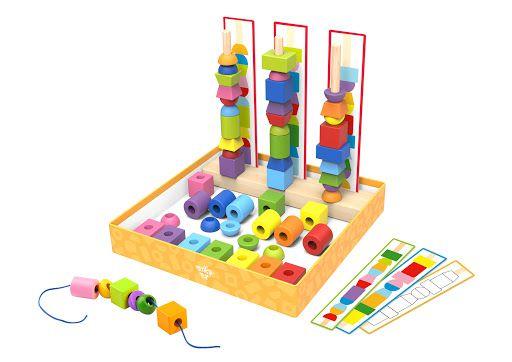 Super Caixa Jogo Organização Tooky Toy