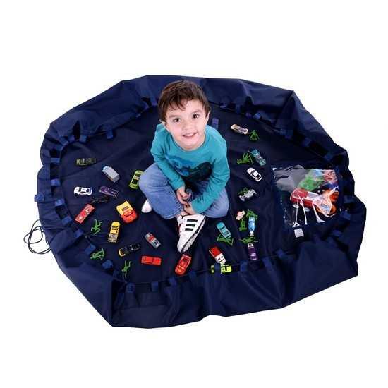 Tapete infantil Portátil para Atividades - Vira Bolsa