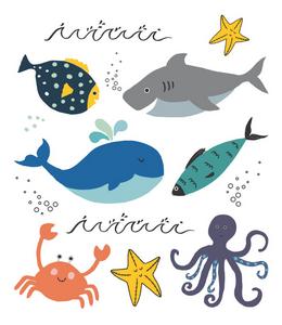 Tatuagem Temporária Fundo do Mar