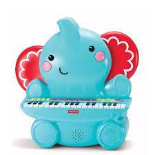Teclado Musical Elefante 25 teclas - Fisher Price