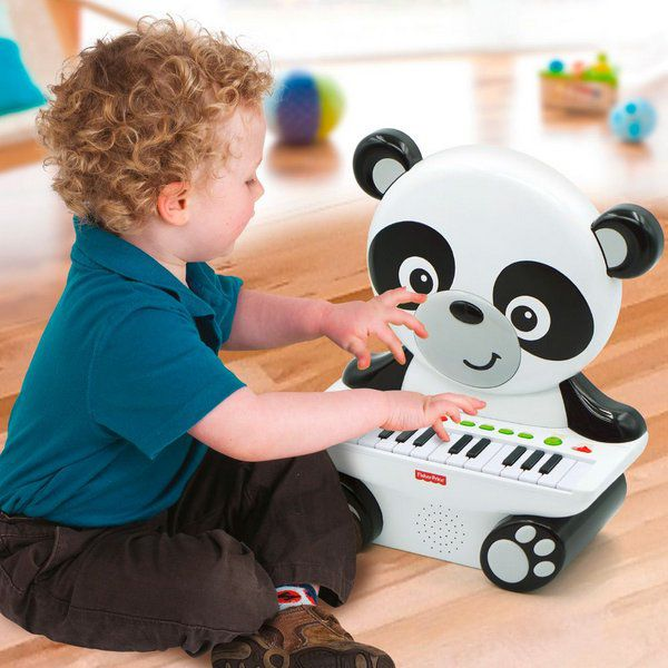 Teclado Musical Panda 25 teclas - Fisher Price