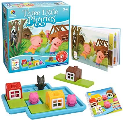 Three Little Piggies Deluxe - Jogo de Lógica para Pequenos