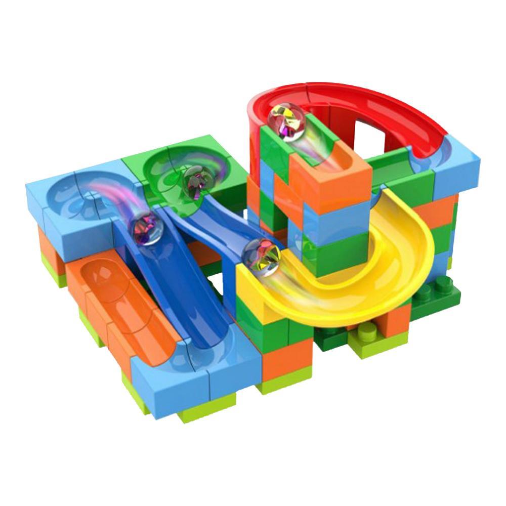 Pista Deslizante com Bolinhas - Track Maze - 98 peças