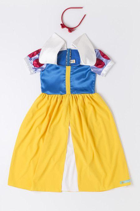 Vestido Branca de Neve ( 4-6 anos)