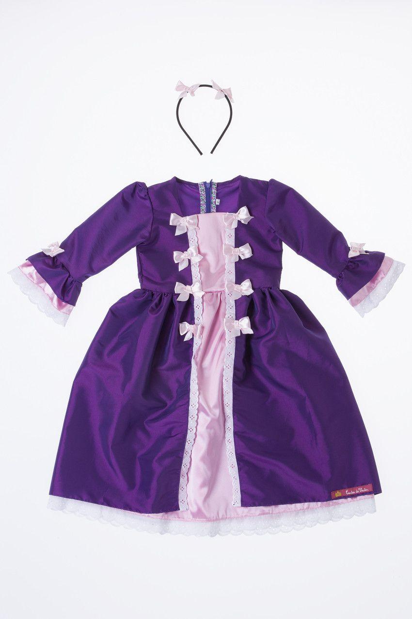 Vestido Princesa Maria Antonieta - Contos de Vestir@