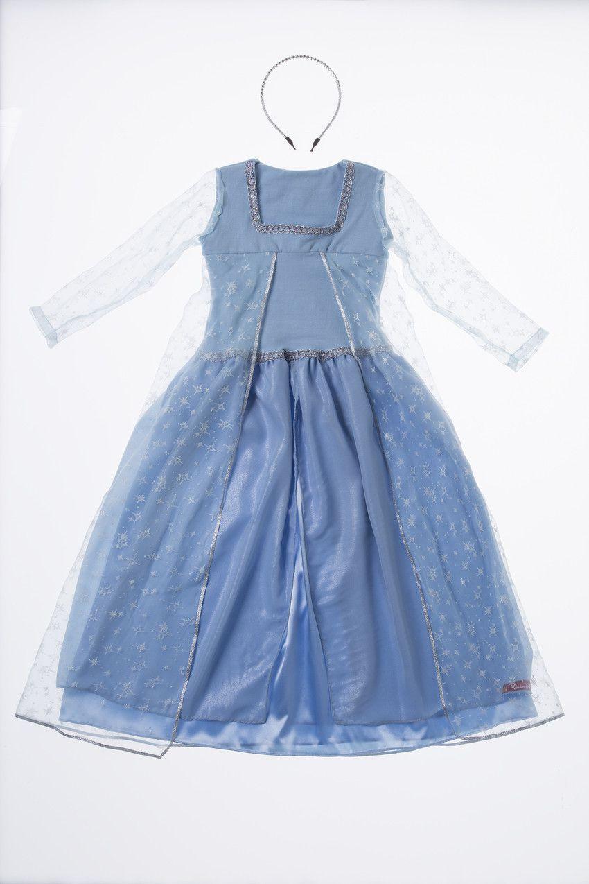 Vestido princesa do Gelo Elsa ( 4 a 6 anos)