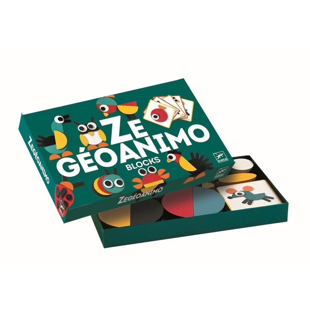 Geoanimo Blocos - Djeco