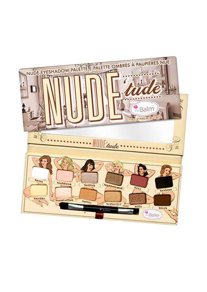 Paleta de sombras Nude'Tude