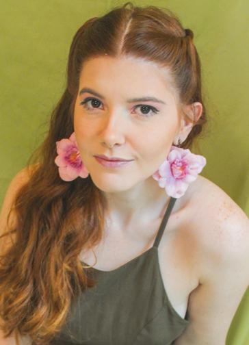 Brinco Flor Flora
