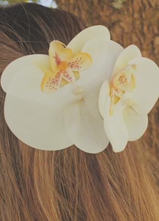 Presilha Orquídea Borboleta