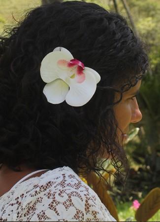 Presilha Orquídea Mariposa