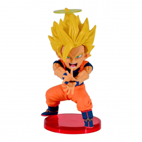 Action Figure Dragon Ball Super Wcf Goku Saiyajin 2