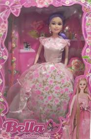 Boneca Bella Fashion Doll K1203/12 - Branco