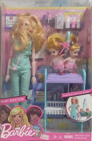 Boneca Estilo Barbie Baby Doctor LT052