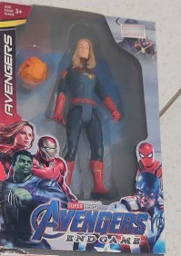 Boneco Capitã Marvel Vingadores EndGame