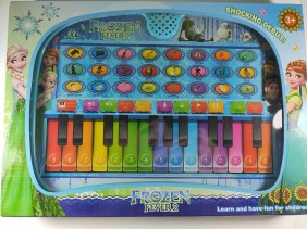 BRINQUEDO TECLADO MUSICAL INFANTIL PRINCESAS 535-37