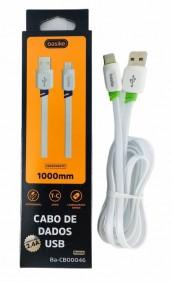 CABO DE DADOS USB TIPO C BA-CB00046 BASIKE