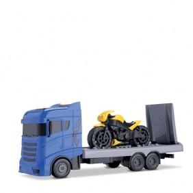 Caminhão Guincho com Moto Orange Toys