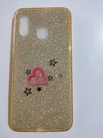Capa para celular Samsung A30 com Glitter Inova