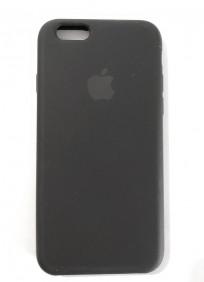CAPA SILICONE IPHONE 6G - Preto