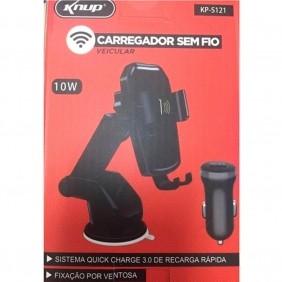 Carregador sem fio Veicular KP-S121 Knup