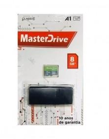 Cartão de Memória 8GB com Adaptador MasterDrive