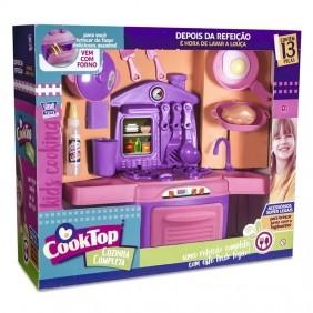 Cooktop Cozinha Completa 7819 Zuca Toys