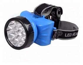 Lanterna de Cabeça 12 Leds QH-102
